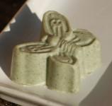 Zöld agyagos szappan zsíros bőrre