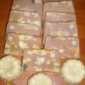 Rooibos szappan rózsaillattal és mindenféle jóval