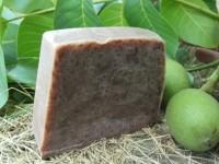 Diós-zöldagyagos szappan