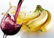 Banános vörösboros hajpakolás a fényes hajért