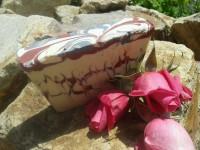 Kecsketejes márvány szappan, virágos illattal