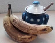 Banános hajpakolás – száraz, hullámos hajra